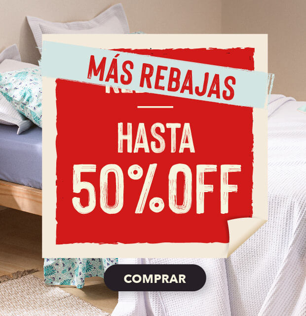 Rebajas hasta 50% OFF