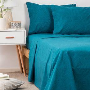 Juego-de-Sabanas-Queen-Size-Arabesco-Azul