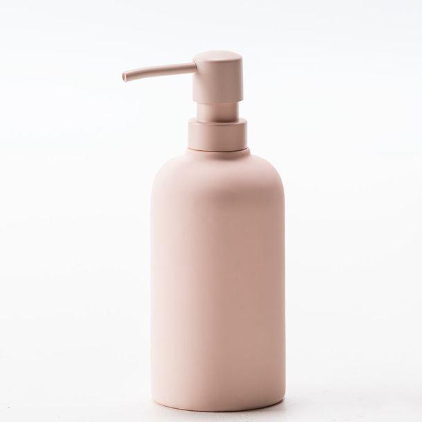 Dosificador-de-Jabon-Stoneware-Rosa